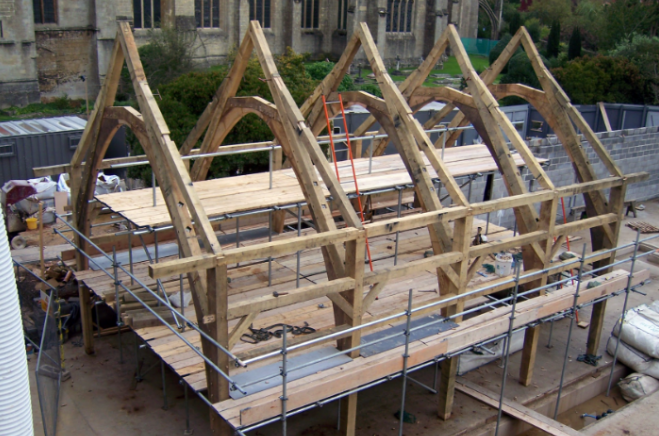 Contact - Belerion Oak Framing - Based In Redruth, Cornwall