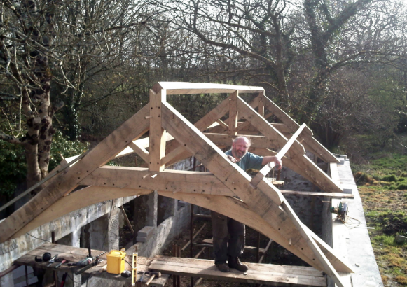 Oak Framed Buildings Cornwall - Belerion Oak Framing