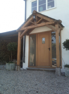 Oak Framed Porch - Porch On The Lizard
